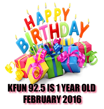 HAPPY BIRTHDAY KFUN