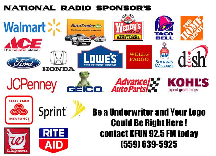 kfun national radio sponsors